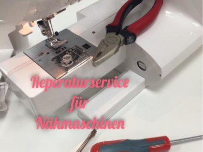 Reparaturservice Nähmaschinen
