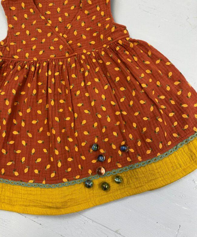Nähset Kinderkleid Wilma