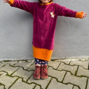 Nähset Oversized Kleid/Shirt Kind