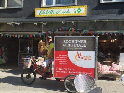 Nachhaltige Lieferungen am gleichen Tag innerhalb Bochums