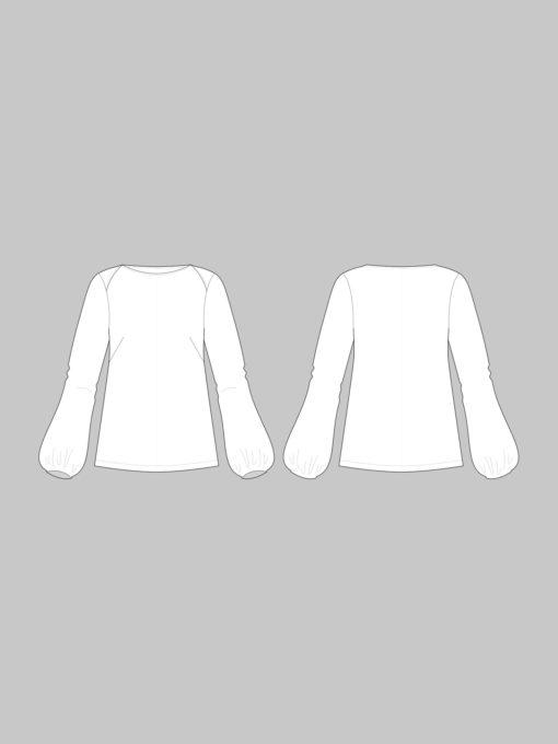Schnittmuster: The Assembly Line Puff Shirt XL-3XL